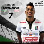 Cristian Fernandes Once Caldas Casa Blanca OC