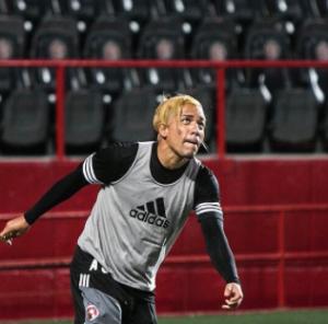 Dayro Moreno nuevo peinado