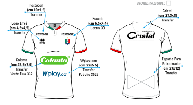 Asi Sera La Nueva Camiseta Del Once Caldas 2019 Casablancasports
