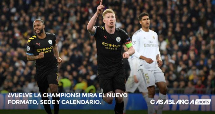 vuelve la champions mira nuevo formato calendario y sedes