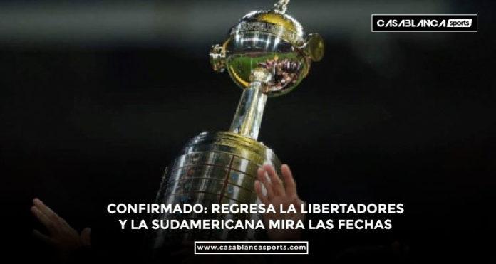 Fechas definidas para el regreso de la Copa Libertadores y la Copa Sudamericana