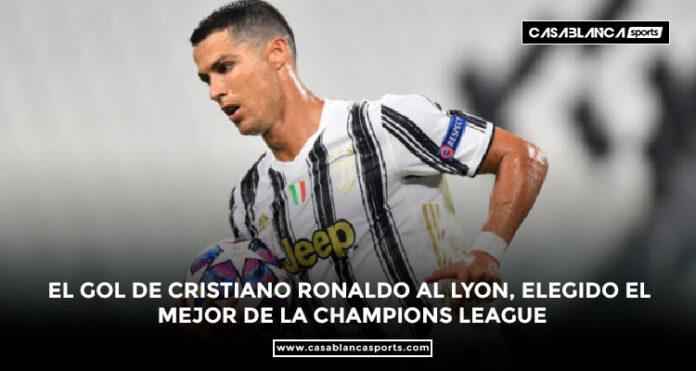 El gol de Cristiano Ronaldo al Lyon, elegido el mejor de la Champions League