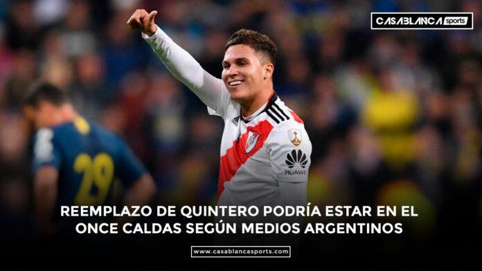 Johan Carbonero River Plate Juan Fernando Quintero