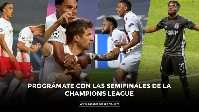 PROGRÁMATE CON LAS SEMIFINALES DE LA CHAMPIONS LEAGUE