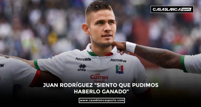 """Juan David Rodríguez Once Caldas """"Siento que pudimos haberlo ganado"""""""