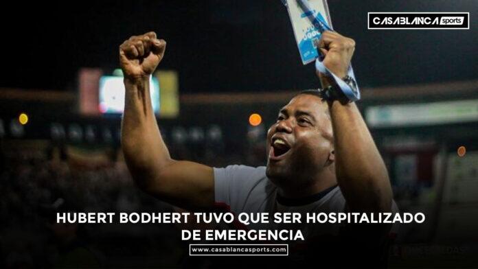 Hubert Bodhert tuvo que ser hospitalizado de emergencia técnico del Once Caldas