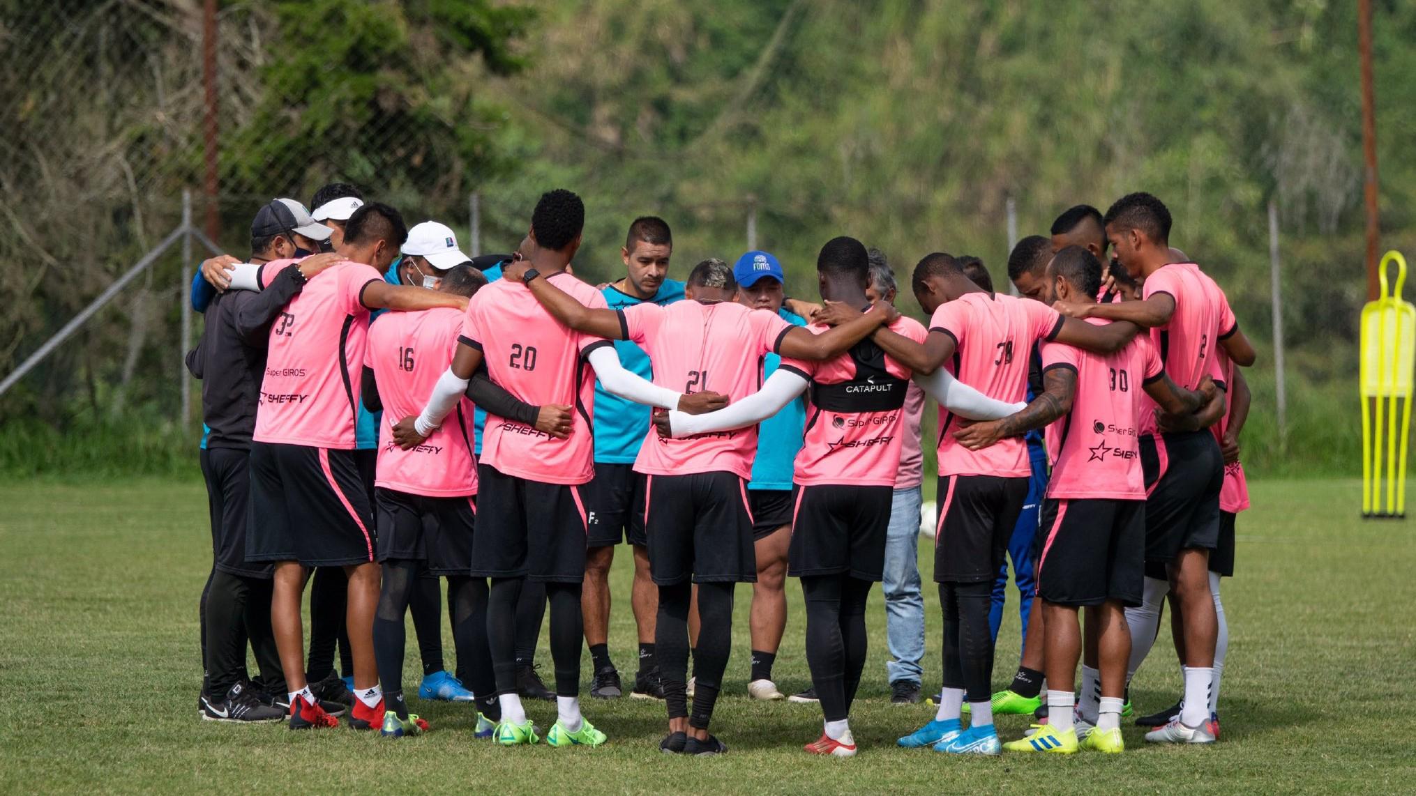 entrenamiento Once Caldas Bogotá